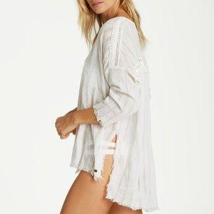 Billabong Why Not Beach Cover Up Tunic Dress